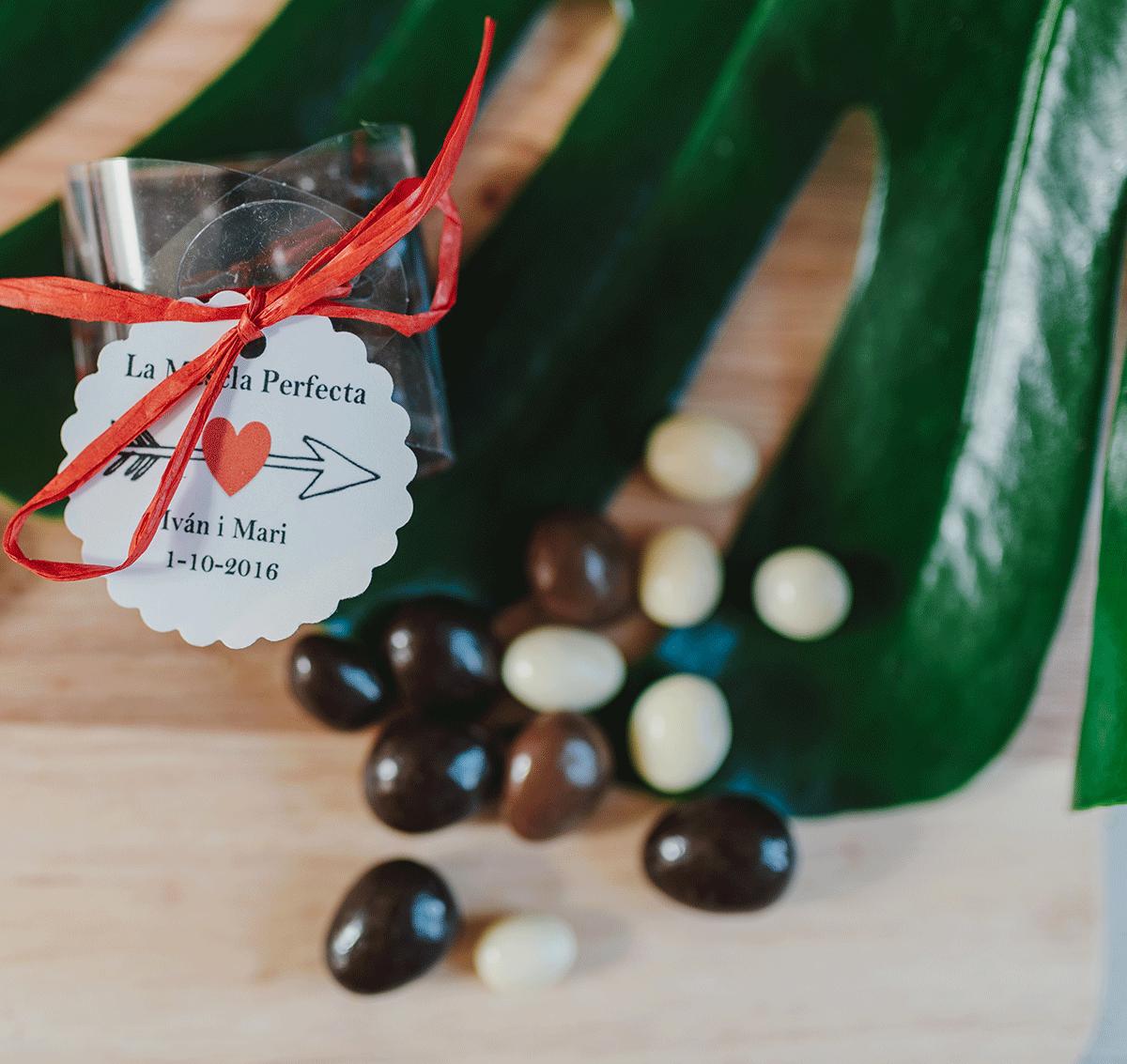 Cacahuete de chocolate negro