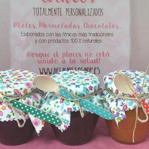 Deliciosso | Telas para tarros con motivo de Flores Vivas