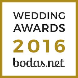 Deliciosso Premio bodas.net 2016